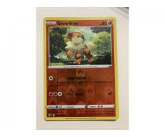 Reverse Holo Rare Growlithe 027/192