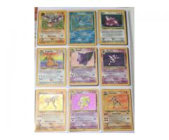 POKEMON CARDS COMPLETE FOSSIL SET INC. 13 FIRST EDITIONS (WOTC 1999 62/62)
