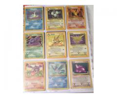 POKEMON CARDS COMPLETE FOSSIL SET INC. 13 FIRST EDITIONS (WOTC 1999 62/62) - Image 2