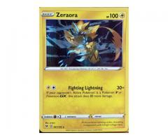 Zeraora Hollow RARE- vivid voltage-