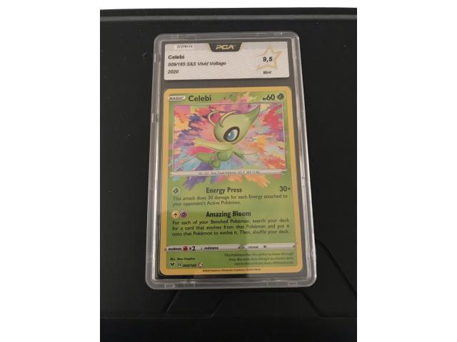 Celebi Amazing Rare PCA 9.5 Card - 1