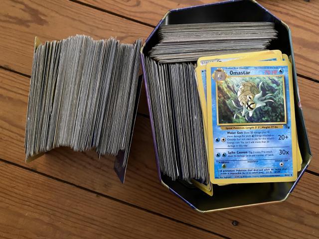 400+ cards - 1