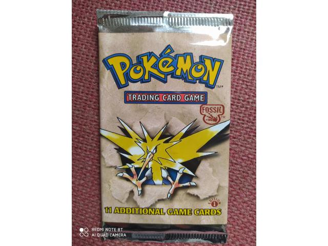 Sealed heavy fossil 1st edition pack - 1