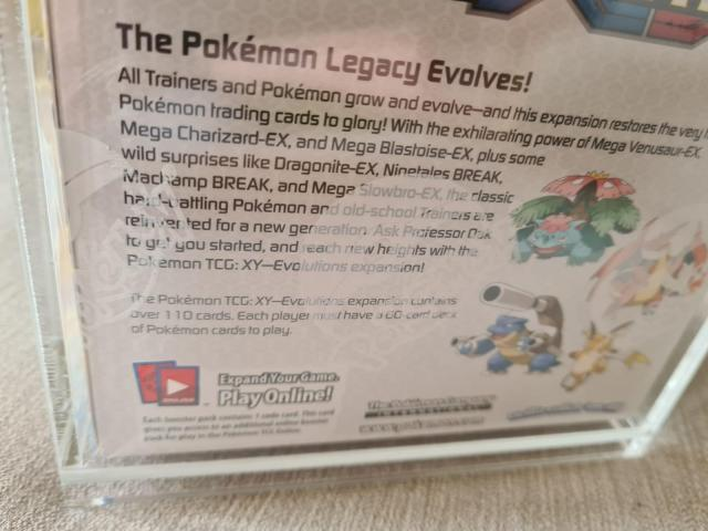 Pokemon Evolutions 2016 Sealed Booster Box - 3