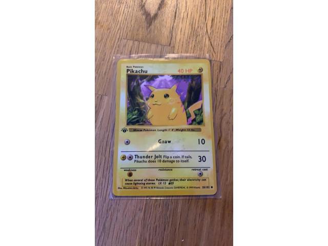 1st edition Pikachu - 1