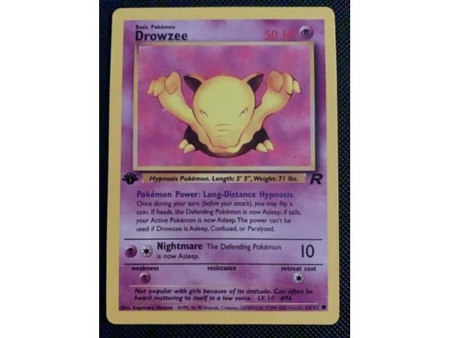 1st Edition - Drowzee - 1