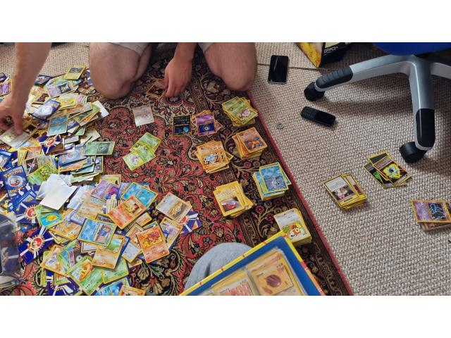 Pokemon cards from1996 - 2000 - 2