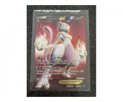 Mewtwo EX 158/162 XY Breakthrough Pokemon TCG FULL ART Card