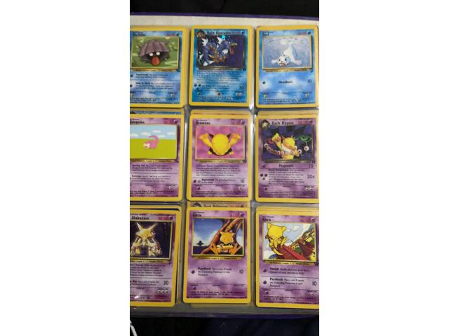 Folder of Pokemon cards - 1
