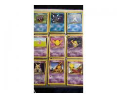 Folder of Pokemon cards