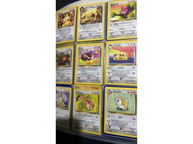 Folder of Pokemon cards - 3