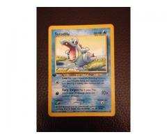 1st edition pokemon totodile